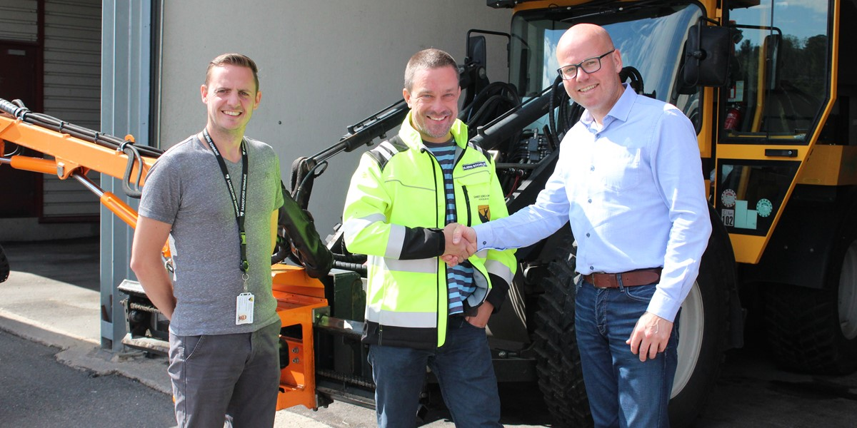 Image of Sandefjord municipality chose fleet management solutions from GSGroup